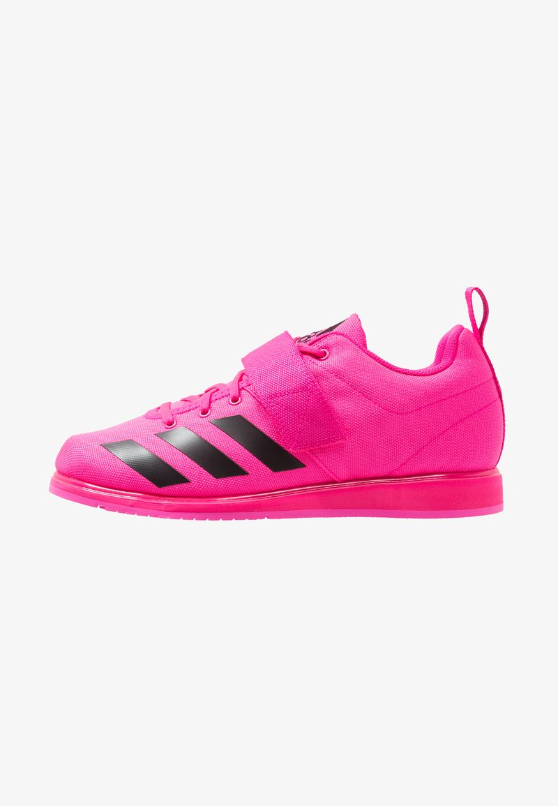 adidas Performance - POWERLIFT 4 - Obuwie treningowe - shock pink/core black