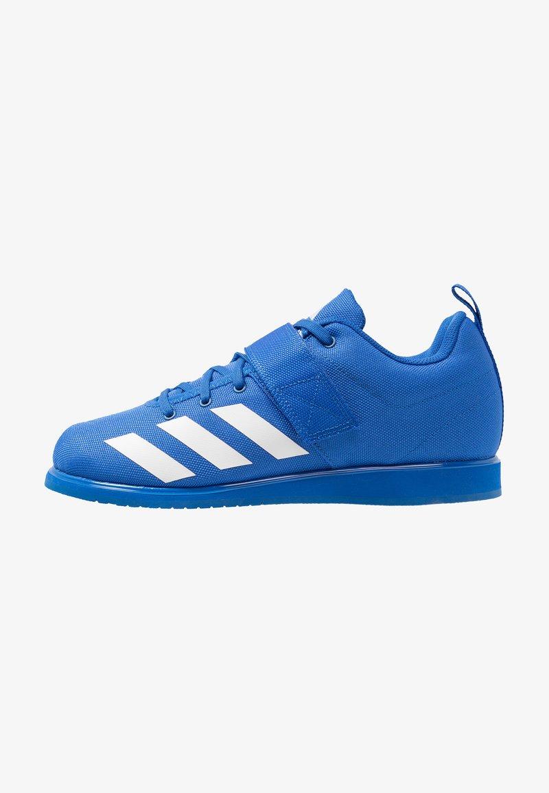 adidas Performance - POWERLIFT 4 - Træningssko - blue/footwear white