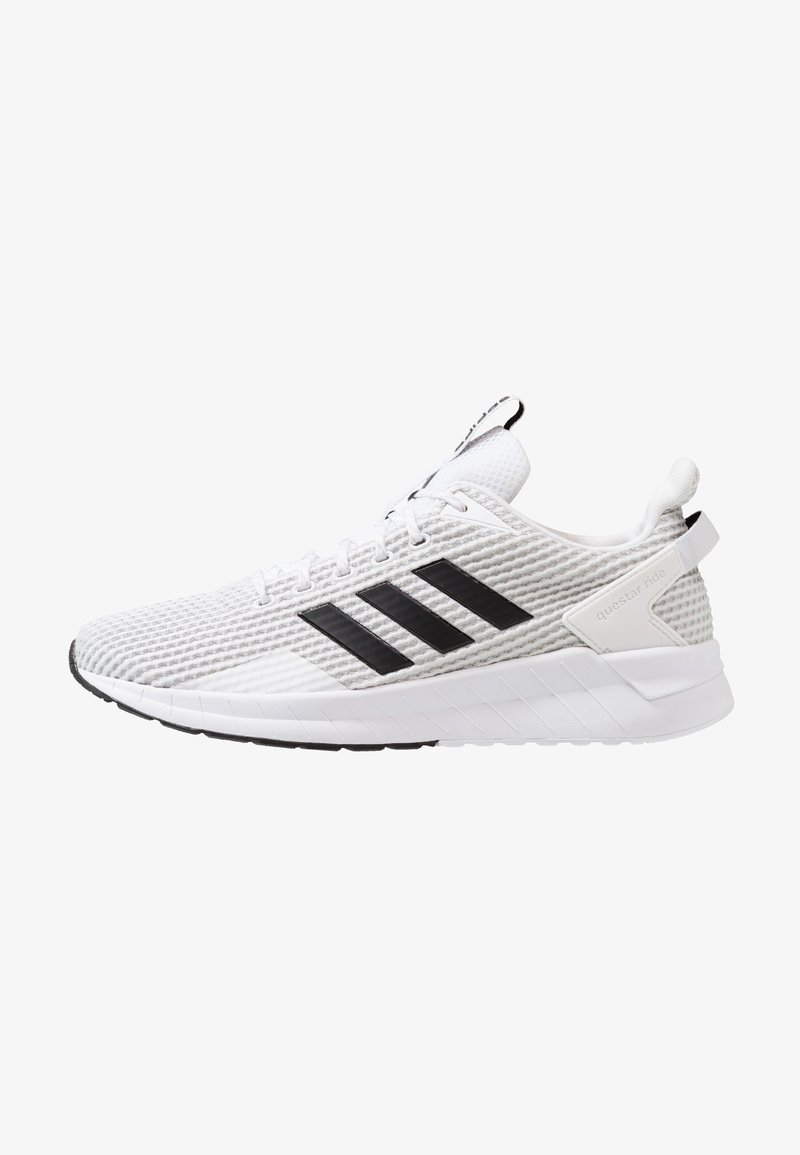 adidas Performance - QUESTAR RIDE - Laufschuh Neutral - footwear white/core black/grey two