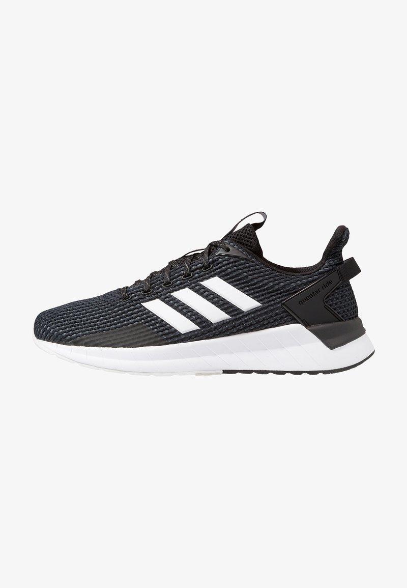 adidas Performance - QUESTAR RIDE - Neutrala löparskor - core black/footwear white/grey six