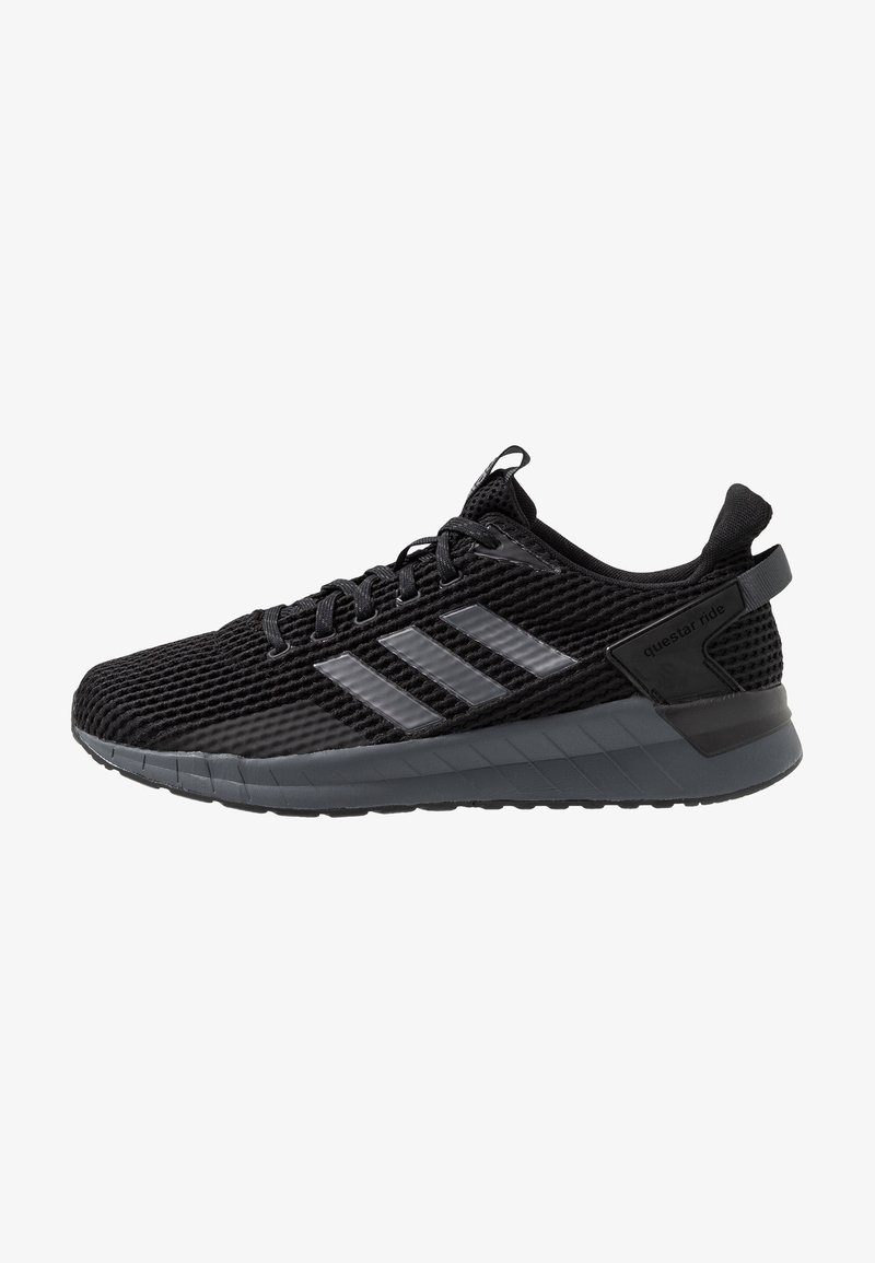 adidas Performance - QUESTAR RIDE - Neutral running shoes - core black/night metallic/grey six