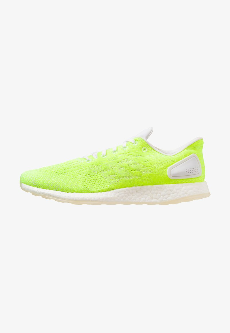 adidas Performance - PUREBOOST DPR LTD - Neutral running shoes - footwear white/hi-res-yellow