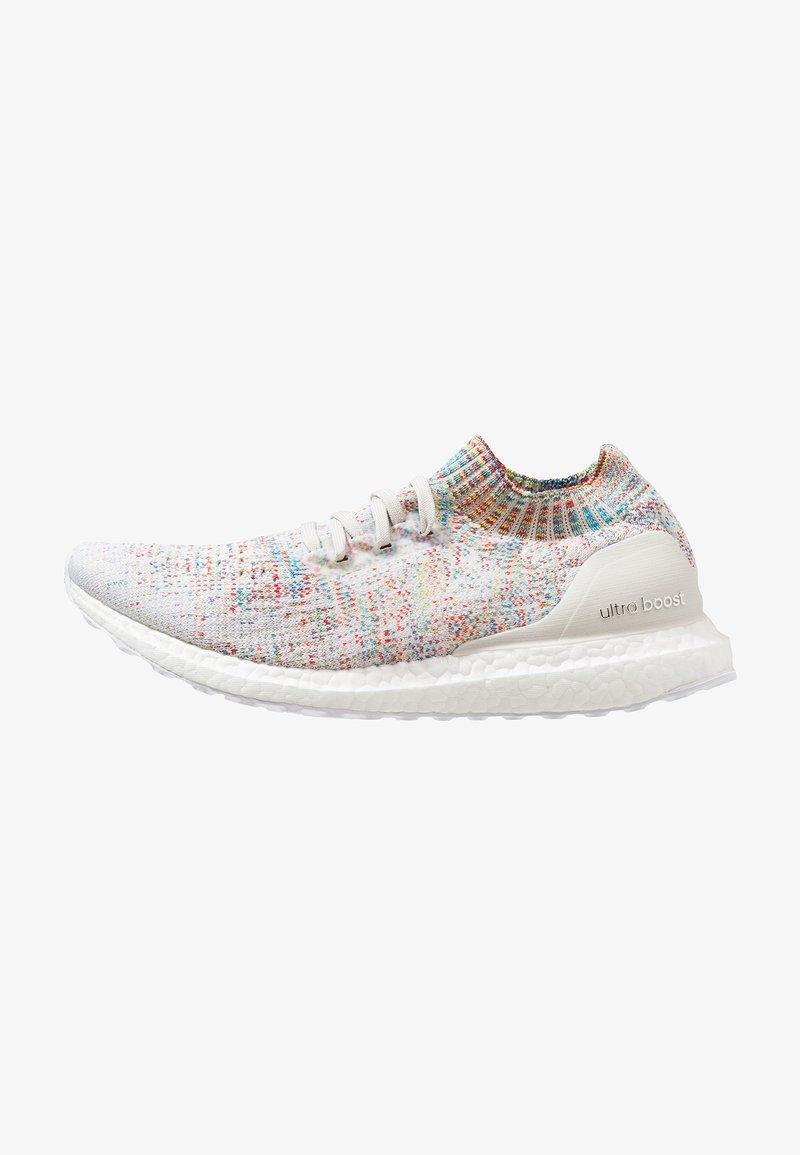 adidas Performance - ULTRABOOST UNCAGED - Hardloopschoenen neutraal - raw white/footwear white/shock cyan