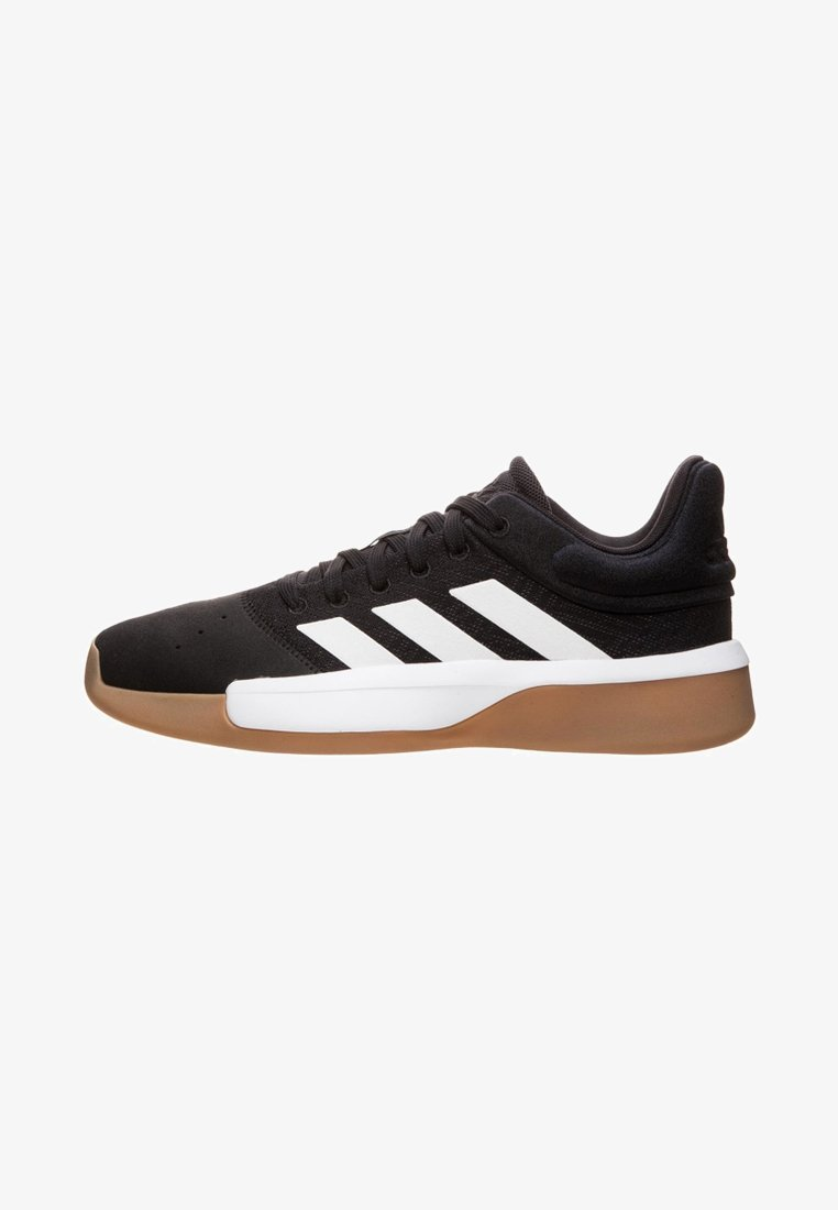 adidas Performance - PRO ADVERSARY 2019 - Basketballschuh - black/white