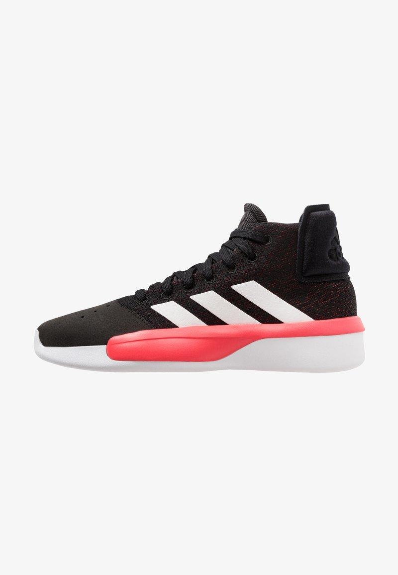 adidas Performance - PRO ADVERSARY  2019 SHOES - Basketballschuh - core black/footwear white/shock red