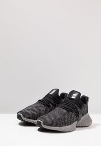 adidas Performance - ALPHABOUNCE INSTINCT - Neutrale løbesko - core black/footwear white/grey three - 2