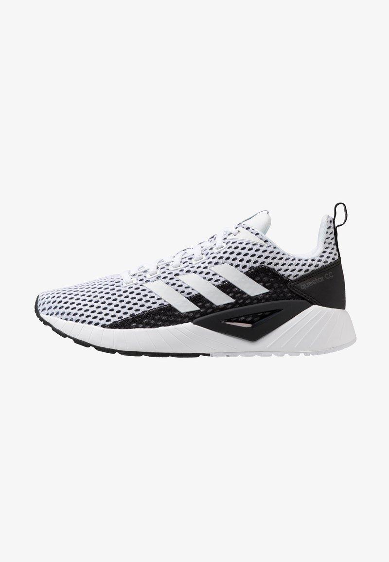 adidas Performance - QUESTAR CLIMACOOL - Laufschuh Neutral - footwear white/core black