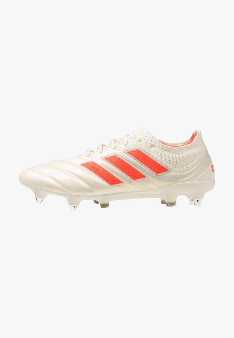 adidas Performance - COPA 19.1 SG - Fußballschuh Stollen - offwhite/solar red/core black