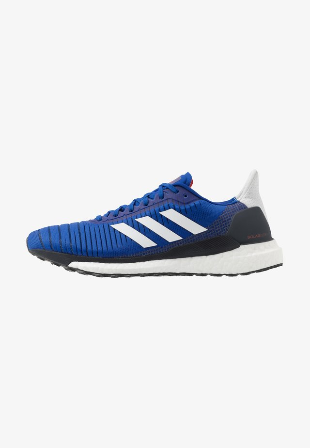 SOLAR GLIDE 19 - Obuwie do biegania treningowe - royal blue/dash grey/solar red