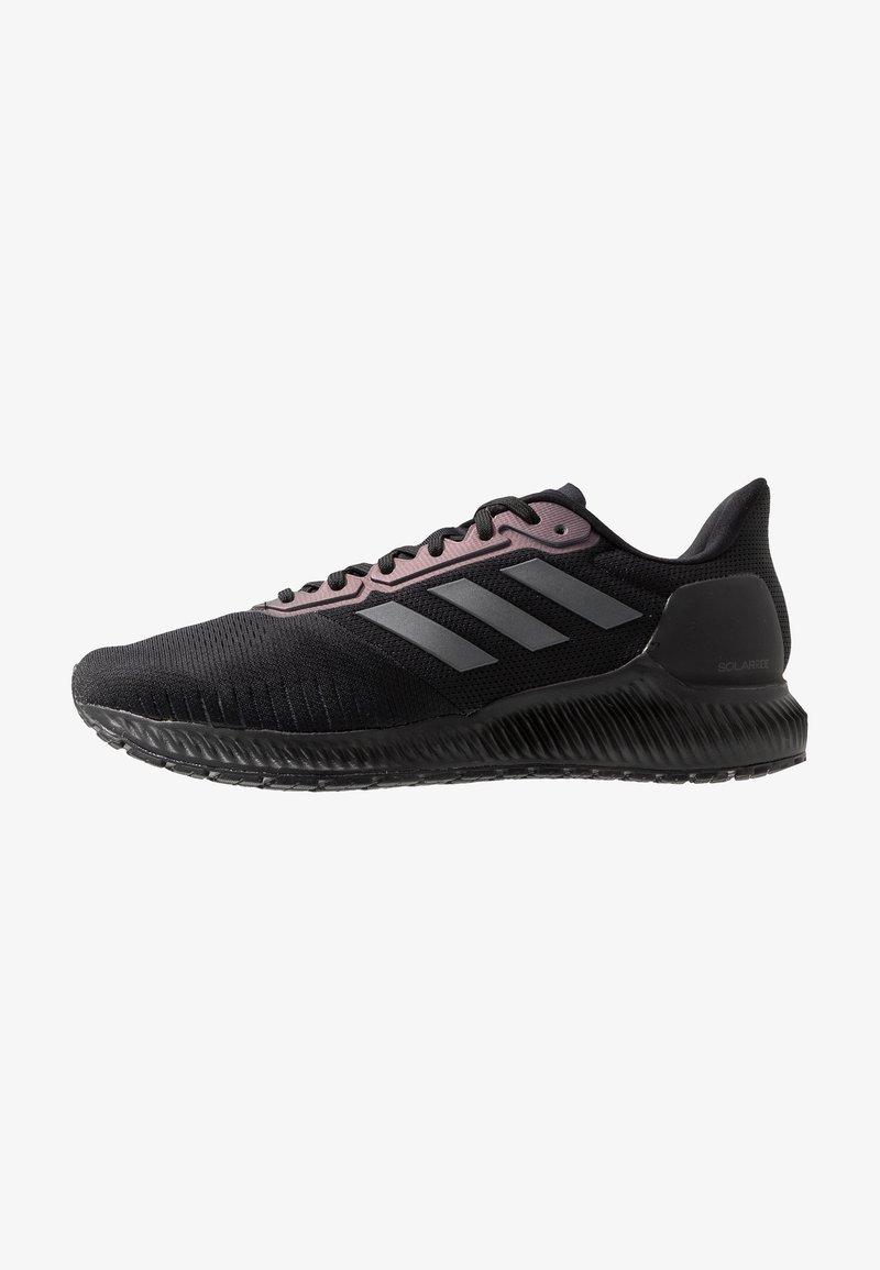adidas Performance - SOLAR RIDE - Neutrální běžecké boty - core black/grey six/solar orange