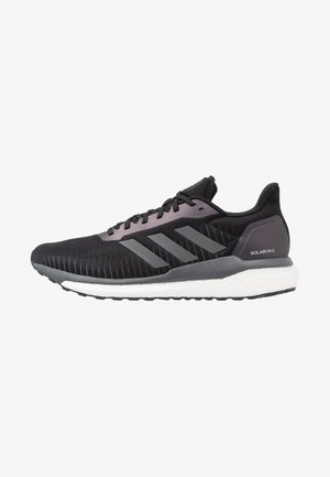 SOLAR DRIVE 19 - Neutral running shoes - core black/grey six/footwear white
