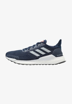 SOLAR BOOST 19 - Neutrale løbesko - collegiate navy/blue tint/solar ornage