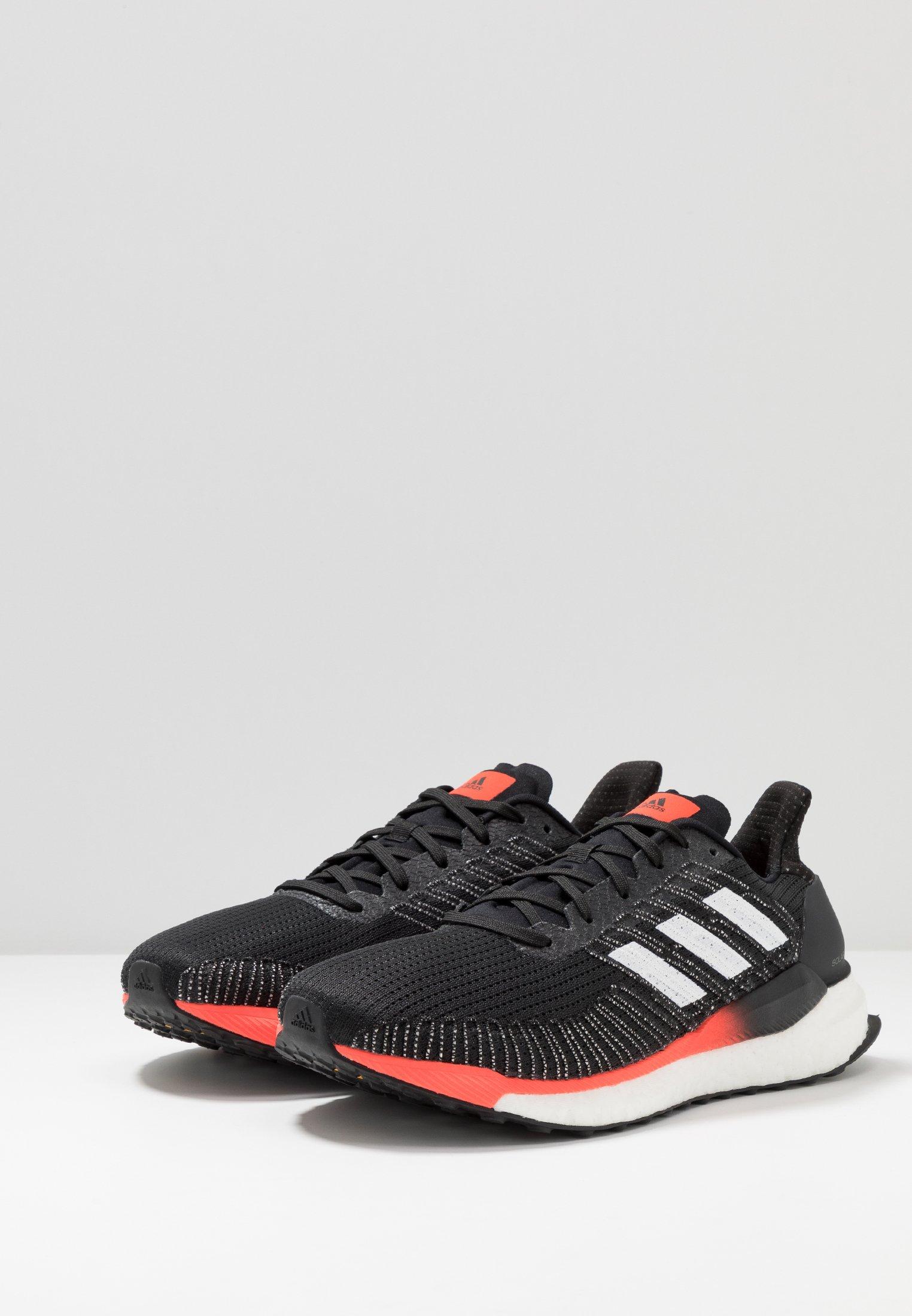 Adidas Performance Solar Boost 19 - Laufschuh Neutral Core Black/footwear White/solar Red Black Friday