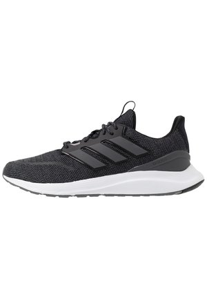 ENERGYFALCON CLOUDFOAM RUNNING SHOES - Obuwie do biegania treningowe - core black/grey six/footwear white