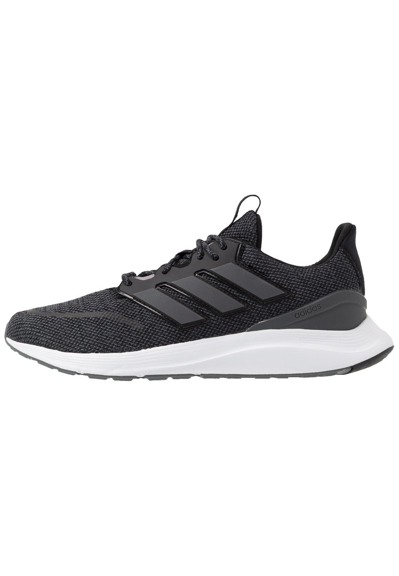 adidas Performance - ENERGYFALCON CLOUDFOAM RUNNING SHOES - Obuwie do biegania treningowe - core black/grey six/footwear white