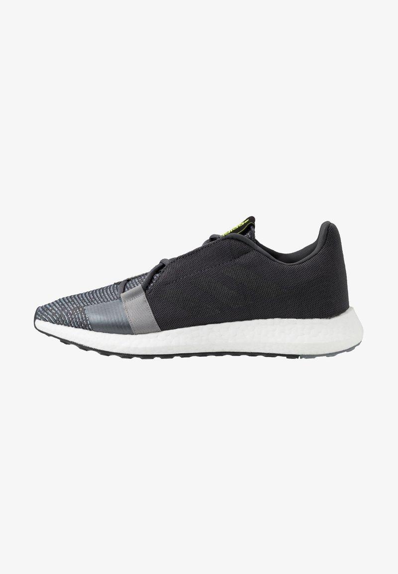 adidas Performance - SENSEBOOST GO - Scarpe running neutre - grey six/core black/solar yellow