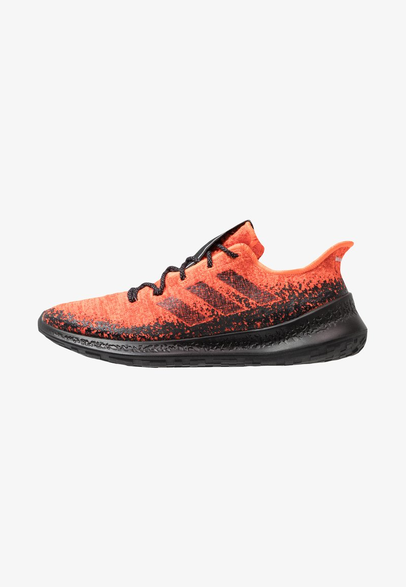 adidas Performance - SENSEBOUNCE - Juoksukenkä/neutraalit - hi-res coral/core black/active orange