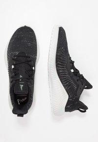 adidas Performance - ALPHABOUNCE+ PARLEY - Neutrální běžecké boty - core black/footwear white - 1