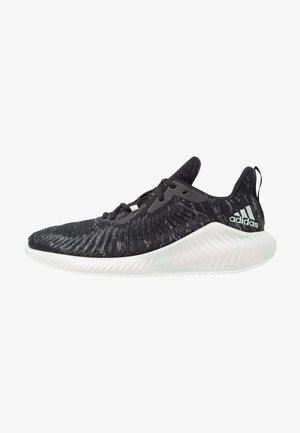 ALPHABOUNCE+ PARLEY - Chaussures de running neutres - core black/footwear white