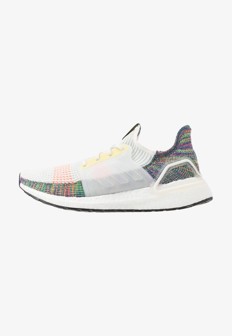 adidas Performance - ULTRABOOST 19 PRIDE - Laufschuh Neutral - white/scarlet/yellow