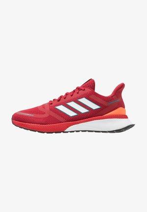 NOVA RUN - Neutral running shoes - active marron/footwear white/solar orange