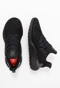 adidas Performance - ALPHABOOST - Laufschuh Neutral - core black/trace grey metallic - 1