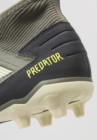 adidas Performance - PREDATOR 19.3 FG - Chaussures de foot à crampons - legend green/sand/solar yellow - 5