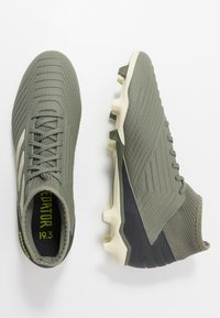 adidas Performance - PREDATOR 19.3 FG - Chaussures de foot à crampons - legend green/sand/solar yellow - 1