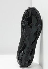 adidas Performance - PREDATOR 19.3 FG - Chaussures de foot à crampons - core black/gold metallic - 4