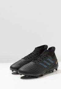 adidas Performance - PREDATOR 19.3 FG - Tekonurmikengät - core black/gold metallic - 2