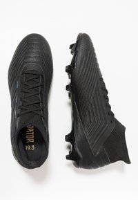 adidas Performance - PREDATOR 19.3 FG - Tekonurmikengät - core black/gold metallic - 1