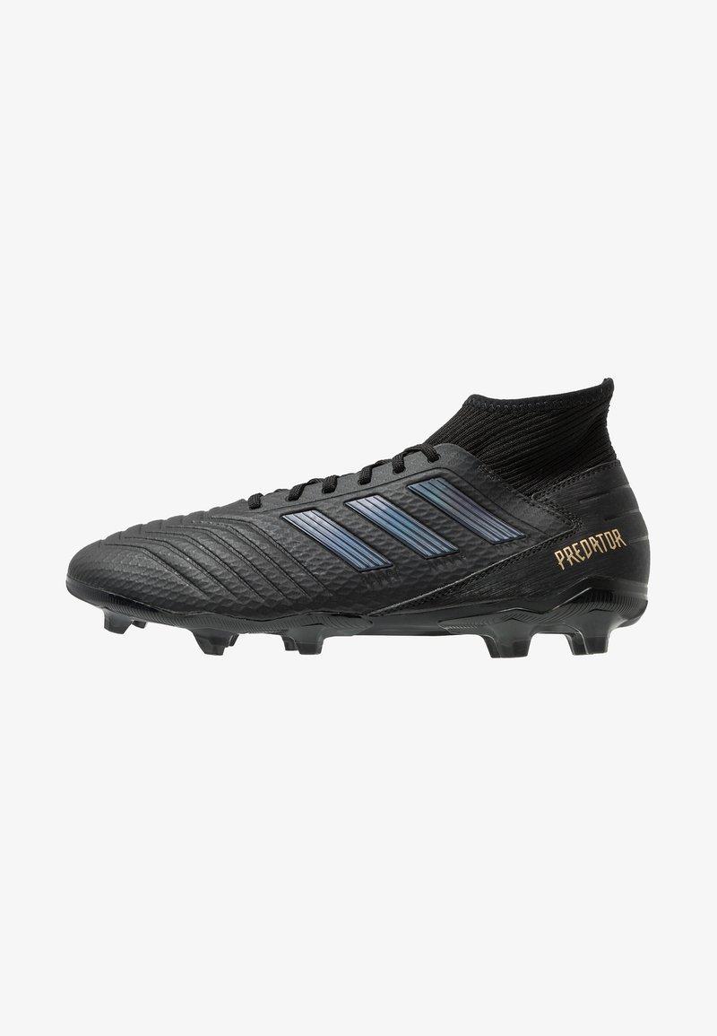 adidas Performance - PREDATOR 19.3 FG - Chaussures de foot à crampons - core black/gold metallic