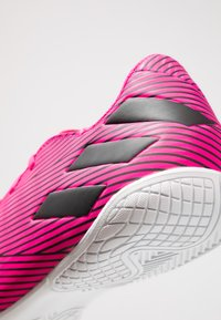 adidas Performance - NEMEZIZ 19.4 IN - Indoor football boots - shock pink/core black - 5