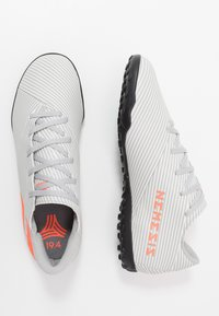adidas Performance - NEMEZIZ 19.4 TF - Botas de fútbol multitacos - grey two/solar orange/core white - 1