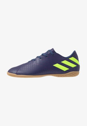 NEMEZIZ MESSI 19.4 IN - Indoor football boots - tech indigo/green/glow purple