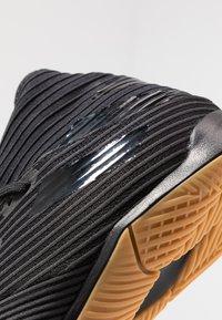 adidas Performance - NEMEZIZ 19.3 IN - Botas de fútbol sin tacos - core black/utility black - 5