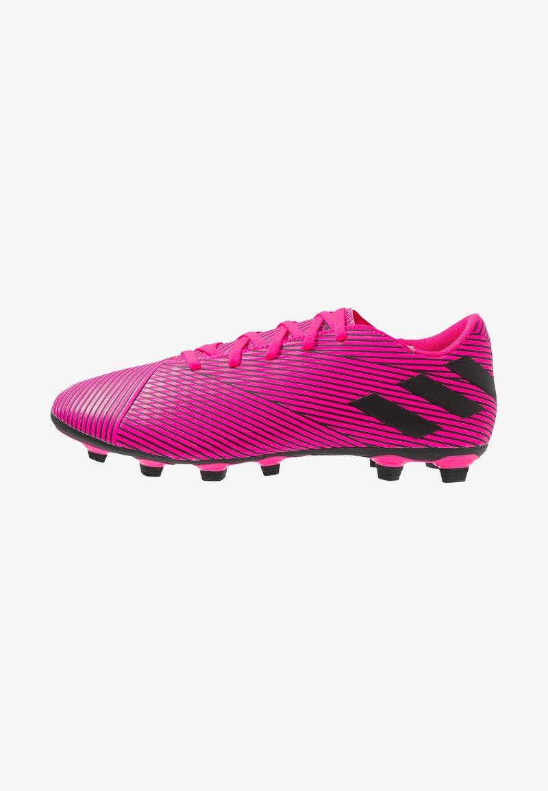 adidas Performance - NEMEZIZ 19.4 FXG - Moulded stud football boots - shock pink/core black