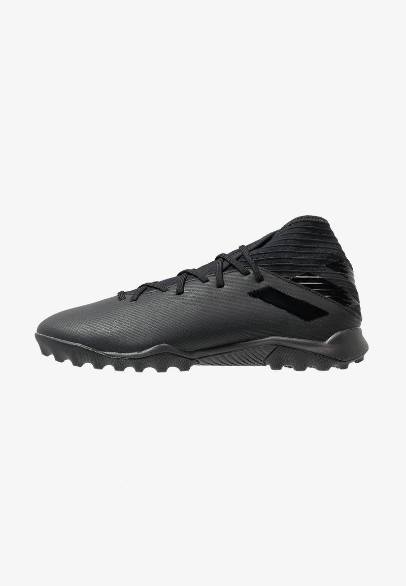 adidas Performance - NEMEZIZ 19.3 TF - Chaussures de foot multicrampons - core black/utility black