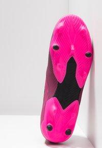 adidas Performance - NEMEZIZ 19.2 FG - Fodboldstøvler m/ faste knobber - shock pink/core black - 4