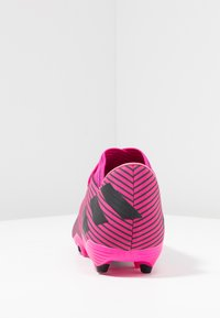 adidas Performance - NEMEZIZ 19.2 FG - Fodboldstøvler m/ faste knobber - shock pink/core black - 3