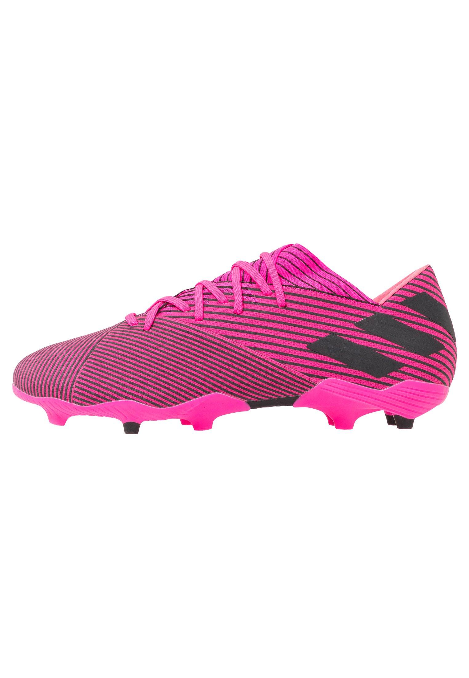 Adidas Performance Nemeziz 19.2 Fg - Voetbalschoenen Met Kunststof Noppen Shock Pink/core Black