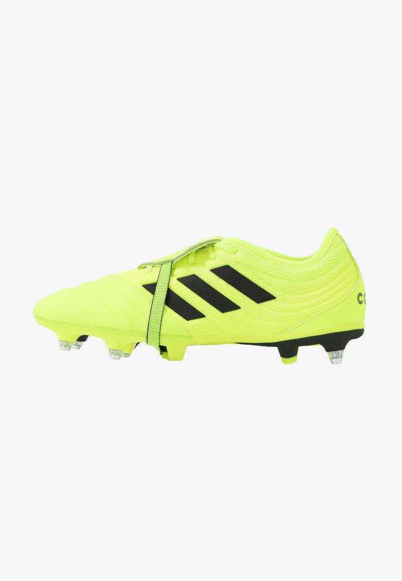 adidas Performance - COPA GLORO 19.2 SG - Chaussures de foot à lamelles - solar yellow/core black