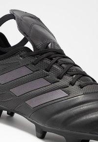 adidas Performance - COPA GLORO 19.2 SG - Skrueknopper - core black/silver metallic - 6