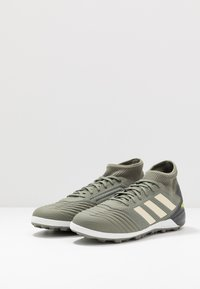 adidas Performance - PREDATOR 19.3 TF - Fotballsko for kunstgress - legend green/sand/solar yellow - 2