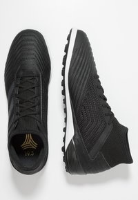 adidas Performance - PREDATOR 19.3 TF - Astro turf trainers - core black/gold metallic - 1