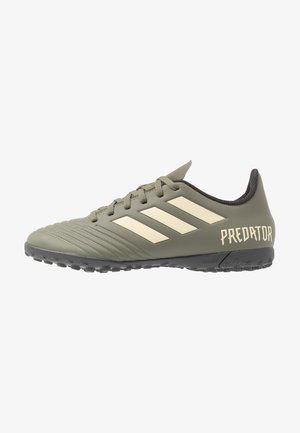 PREDATOR 19.4 TF - Fotballsko for kunstgress - legend green/sand/solar yellow
