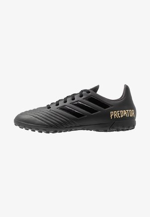 PREDATOR 19.4 TF - Chaussures de foot multicrampons - core black/utility black