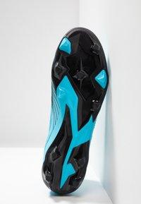 adidas Performance - PREDATOR 19.2 FG - Voetbalschoenen met kunststof noppen - bright cyan/core black/solar yellow - 4