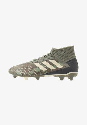 PREDATOR 19.2 FG - Chaussures de foot à crampons - legend green/sand/solar yellow