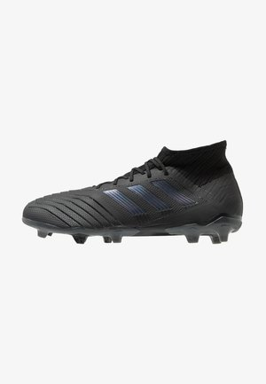 PREDATOR 19.2 FG - Moulded stud football boots - core black/utility black